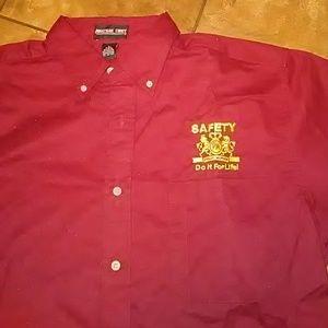 Men's Collared Button Down Shirt